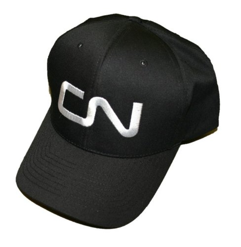 Canadian National Noodle Logo Embroidered Hat [hat45] Black