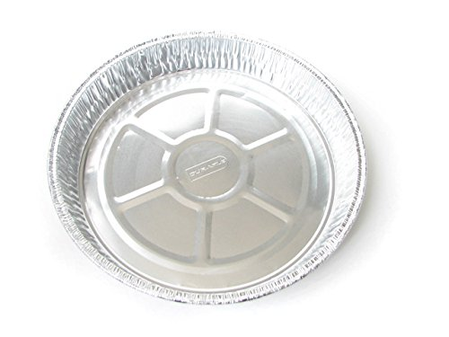 Disposable Aluminum 9 '' Round Cake Pan #1000 By Durable Packaging (500)