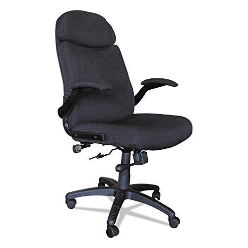 Big & Tall Pivot Arm Chair - Desk Mayline Traditional