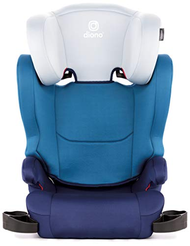 41JawnIjWRL - Diono Cambria 2 Latch, 2-in-1 Belt Positioning Booster Seat, High-Back To Backless Booster XL Space And Room To Grow, 8 Years 1 Booster Seat, Ultimate Safety And Protection, Blue