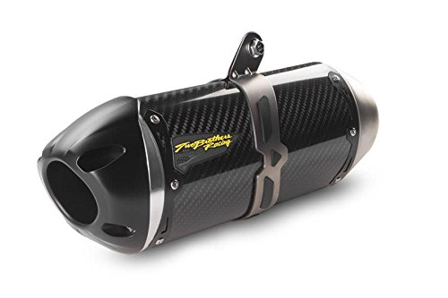 Two Brothers Racing 005-3930405-S1 S1R Black Slip-On Exhaust (Two Brothers Exhaust Systems)