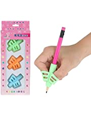 مجموعة من 3 قطع من اداة تصحيح طريقة الامساك بالقلم للاطفال غير سامة للمكاتب والمدرسة