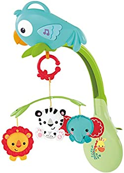 Fisher-price Rainforest Friends 3-in-1 Musical Mobile 0