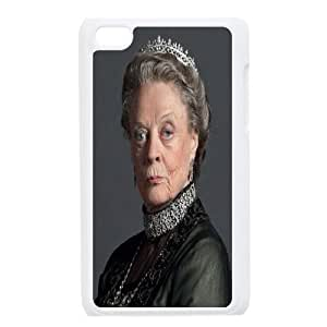 Yearinspace Downton Abbey The Dowager Countess of Grantham Case For Ipod Touch 4 Design Protective, Ipod Touch 4 Cases Cute For Teen Girls With White