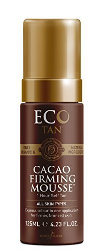 Organic Cacao Self Tanning + Firming Mousse , E-Cotan