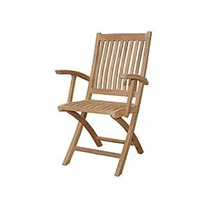 """Anderson 2Piezas Tropico chf-10521.5""""sillón Plegable en Natural"""