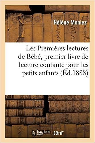 Les Premieres Lectures De Bebe Premier Livre De Lecture