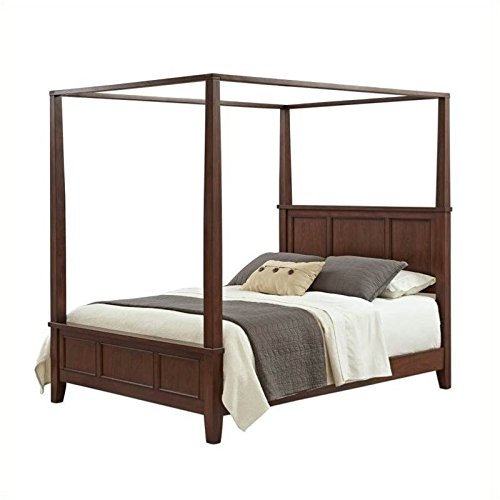 BOWERY HILL King Canopy Bed in Classic ()