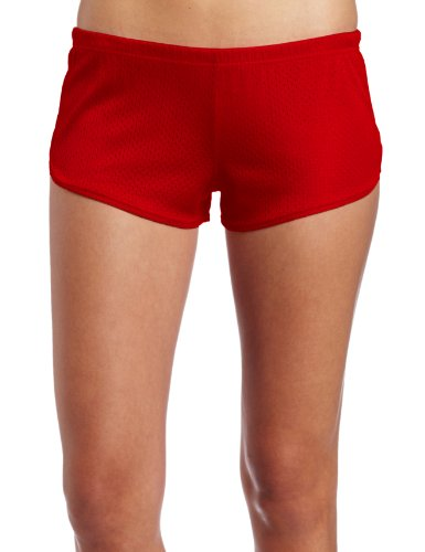 Soffe Juniors Beach Volleyball Short, Red, X-Large