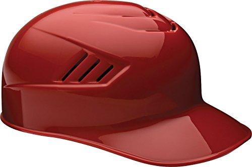 - Rawlings Coolflo Matte Style Alpha Sized Base Coach Helmet, Scarlet, Large