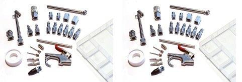Primefit IK1010S-25 Air Accessory Kit with Storage Case, 25-Piece (2-(25-Piece))