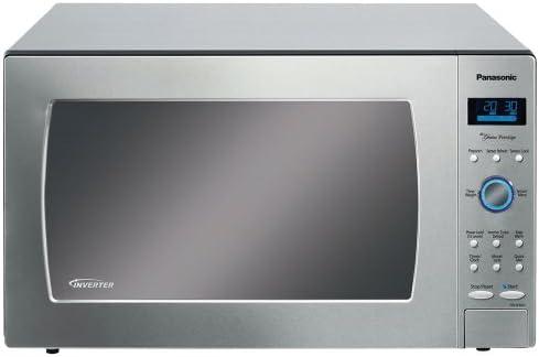 Panasonic NN-SE982S 62L 1250W Acero inoxidable - Microondas (62 L ...