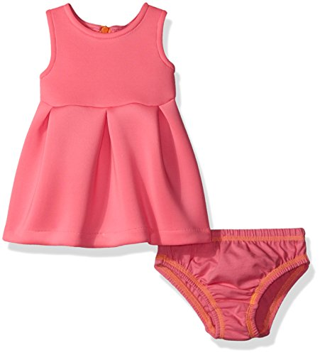 Amy Coe Baby Girls' Sleeveless Dress Set, Sugar Plum, 6-9 (Sugar Plum Dress)