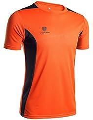Mens Tank Tops! JSPOYOU V-neck Short-sleeved T-shirt Workout Leggings Fitness Sports Gym Running Yoga Athletic Shirt