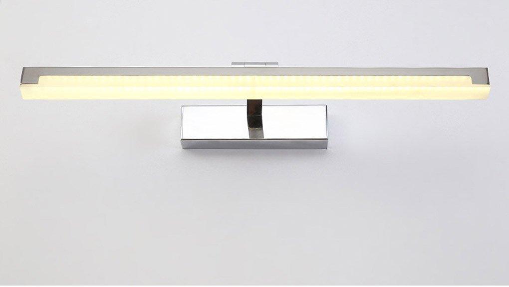 Energie sparen Led Spiegel Scheinwerfer, Modern Einfachheit geführt Wasserdicht Nebel Bad Badezimmer Spiegel Lichter Toiletten Make-up Lichter Dauerhaft (Größe   Long 73cm)