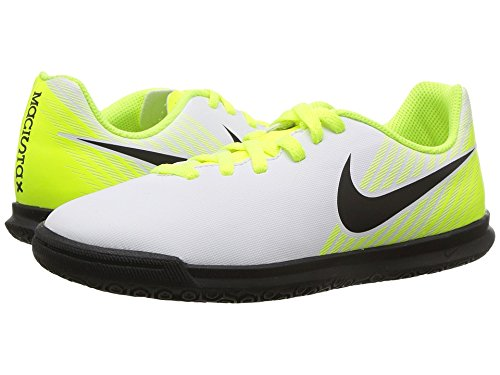 466a7616fd88 Nike Unisex Kid s Jr Magistax Ola Ii Ic White Black Football Shoes-3 UK