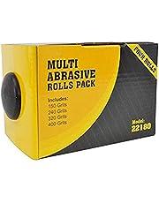 Big Horn 22180 Abrasive 4 Roll Multipack