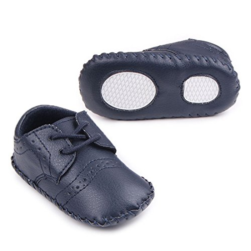 Pictures of MiYuebb Infant/Toddler Handmade Oxford Shoes Hard 2