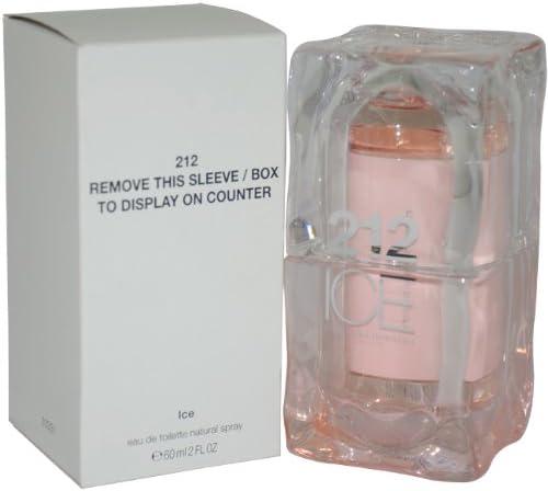 212 Ice Eau De Toilette Spray by Carolina Herrera, 2 Ounce by Carolina Herrera: Amazon.es: Belleza