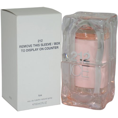 212 Ice Eau De Toilette Spray by Carolina Herrera, 2 Ounce