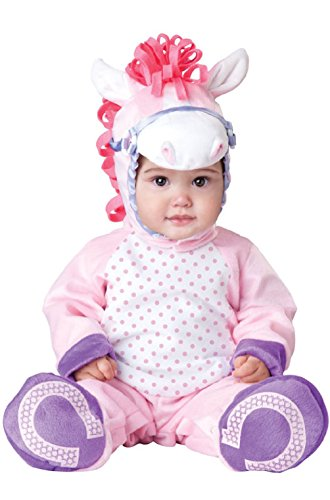 Costumes Pink Sexy Pony (Pretty Little Pony Jumpsuit Infant/Toddler Halloween)