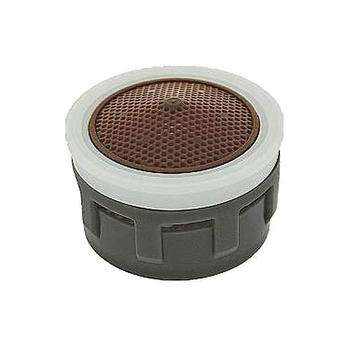 Pack of 6 Spray Stream Brown//White Dome No Washer Small Silicone Tips 0.35 GPM Neoperl 17 5650 3 PCA Spray SLC Ultimate Low Flow Aerator Insert