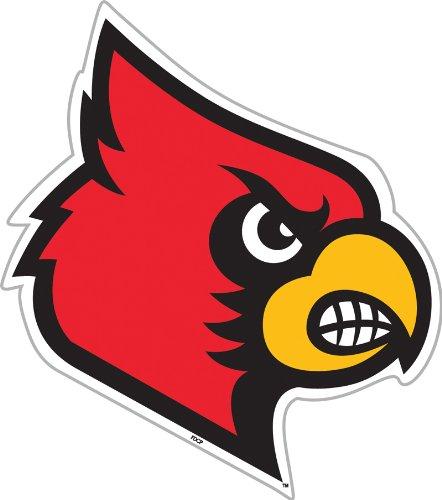 Fremont Die NCAA Louisville Cardinals 12 inch Vinyl Magnet