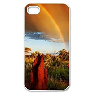 Beautiful grassland Personalized Cover Case with Hard Shell Protection for Iphone 4,4S Case lxa#456460