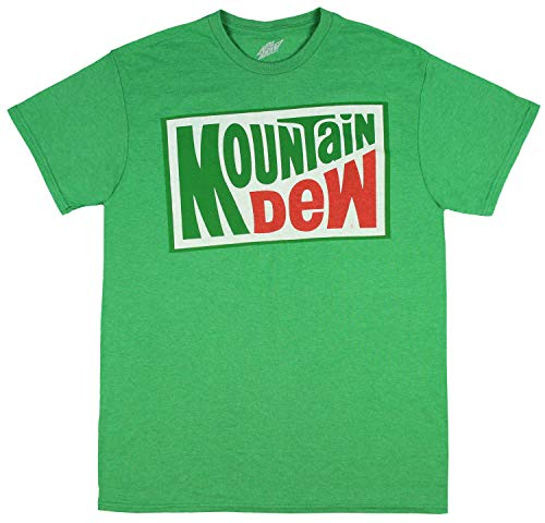 Mountain Dew Soda Shirt Mens Officially Licensed Classic Logo T-Shirt