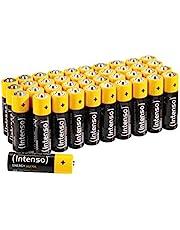 Intenso Energy Ultra AA Mignon LR6 alkalinebatterijen 40 Pack, geel-zwart