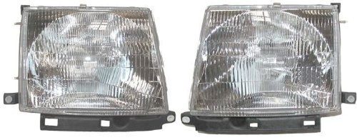 Toyota Tacoma Replacement Headlight Assembly - 1-Pair by - Tacoma Headlight Toyota Replacement