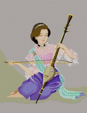 Stitch Pinn (Three String Fiddle - Thai Musical)