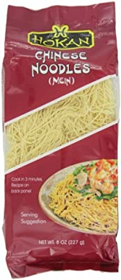 Hokan Noodles, Chinese Style, 8-Ounce (Pack of 12) from Hokan