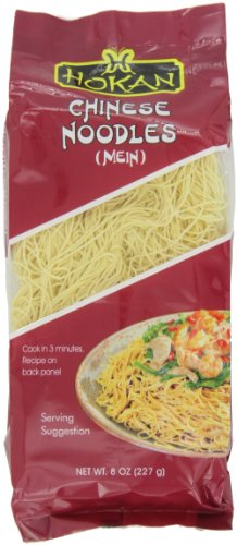 Hokan Noodles, Chinese Style, 8-Ounce (Pack of (Chinese Stir Fry Noodles)