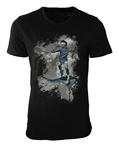 Tennis IV T-Shirt stilvolles Designershirt von Paul Sinus