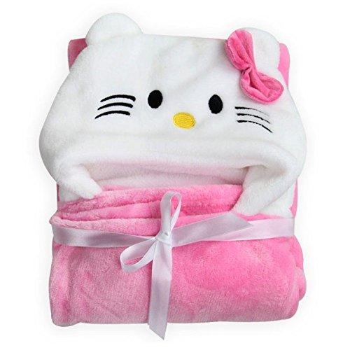 Baby albornoz con capucha Super Soft Infant toalla de baño albornoz Toallas de los niños