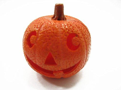 Dollhouse Miniatures Halloween Seasonal Carved Jack-O-Lantern Pumpkin Face 12719]()
