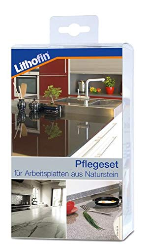Lithofin Pflegeset Compact 800 Ml Professionelle Reinigung Und