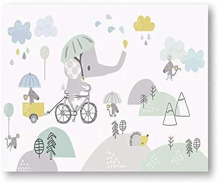 Fondo de pantalla personalizado elefante de dibujos animados lindo ...