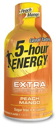 5-Hour ENERGY - Extra Strength Peach Mango - 24 Count