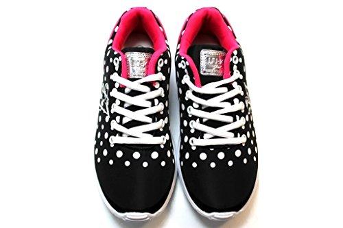 Liu Jo Sneakers Ginniche UM22021 Nero Scarpe Donna Calzature Leggerissime
