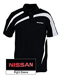 Genuine Nissan Men\'s Nismo Performance Color Block Polo Shirt - Size Extra Large