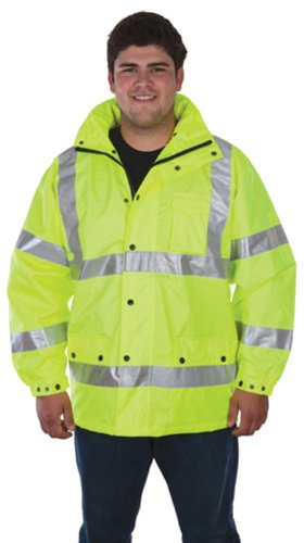 Liberty HiVizGard Polyester Class 3 Water Resistant Windbreaker with 2
