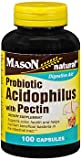 Mason Natural Probiotic Acidophilus with Pectin Capsules - Best Reviews Guide