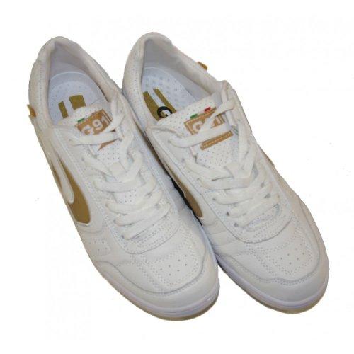 Gems - Zapatillas de fútbol sala para hombre blanco