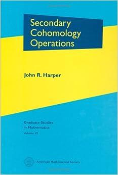 Book Secondary Cohomology Operations