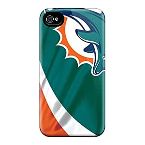 Fashion Cases For iphone 5 5s- Miami Dolphins Defender Cases Covers