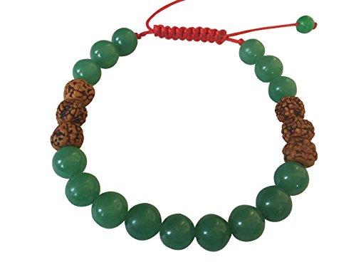 Tibetan Green Rudraksha Bracelet Meditation product image