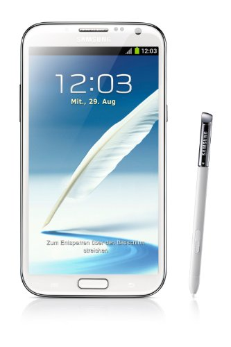 Samsung Galaxy Note II N7100 16GB White-Unlocked International (Galaxy 2 Unlocked Cell Phone)