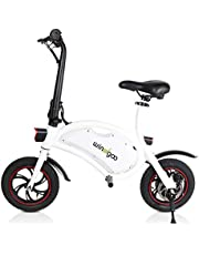 Windgoo Elektrisk Skoter B3 36V 6.0AH 350W vit bärbar e-scooter vikbar e-bike